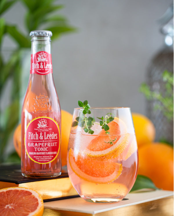 Image of Gin, Thyme Syrup & Grapefruit Tonic