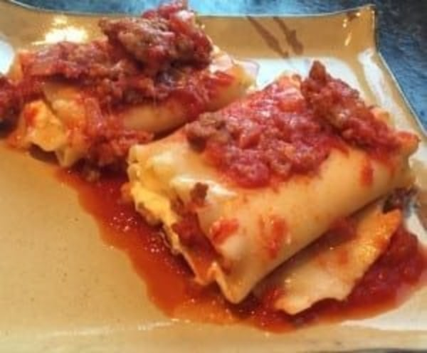 Image of Sausage Lasagna Roll ups