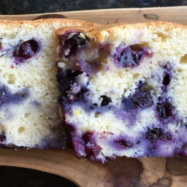 Image of Blueberry Oatmeal Bread