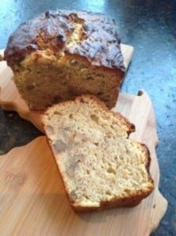 Image ofCream Cheese Banana Nut Bread