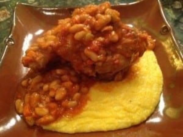 Image ofBraised Pork Shanks & Beans