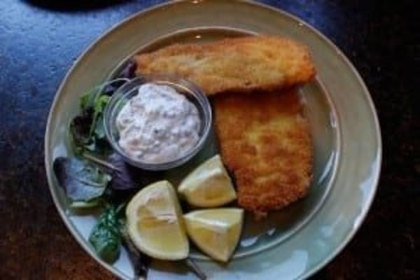 Image of Crispy Chicken Cutlets with Lemon Caper Sauce