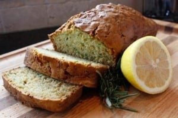 Image of Lemon Rosemary Zucchini Bread