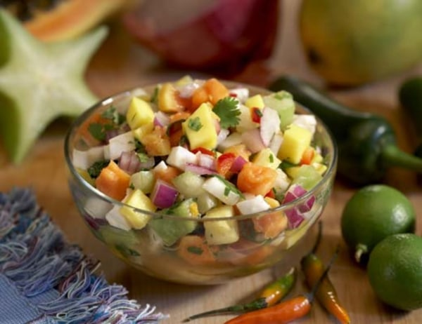 Image ofSpicy Tropical Fruit Salsa