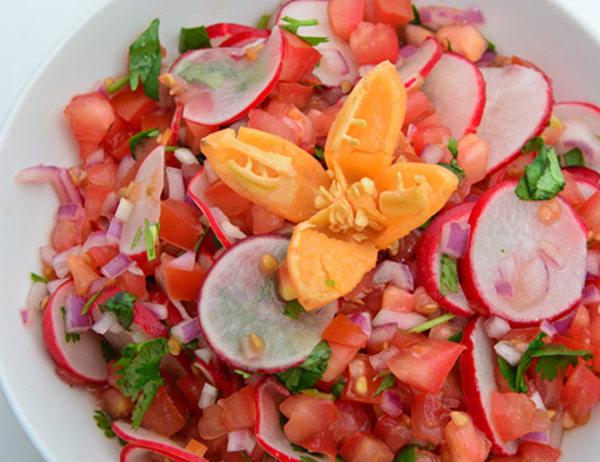 Image ofFresh Habanero Tomato Salsa