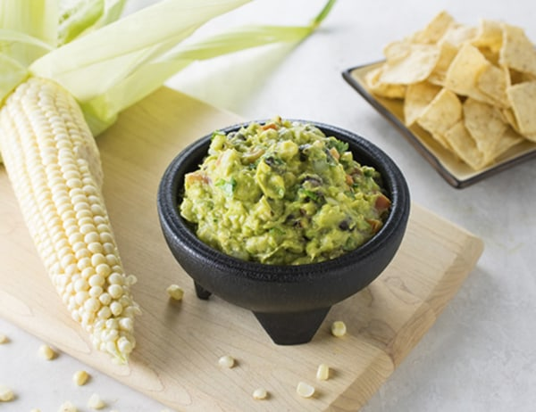 Image of Grilled Corn and Black Bean Guacamole