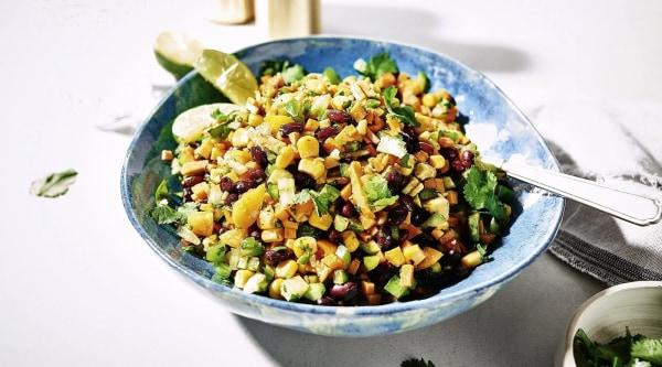 Image of Cajun Salat mit Süßkartoffeln Rezept