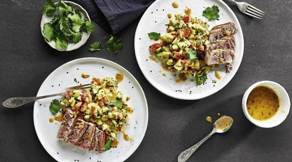 Avocadosalat mit Thunfisch Rezept