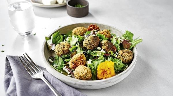 Quinoa Rezept: Quinoa Bällchen Salat