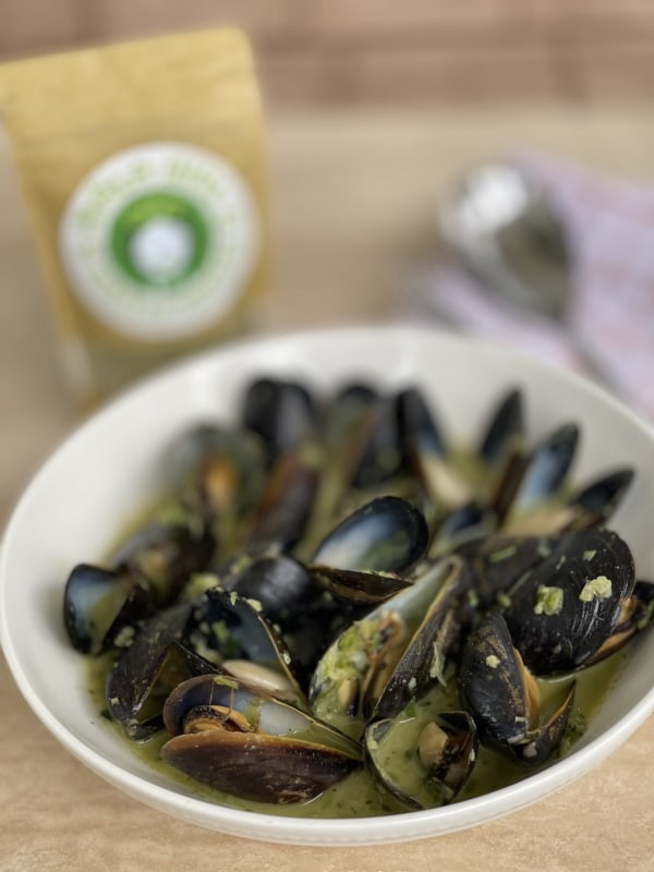 Image of MORINGA SOFRITO MUSSELS