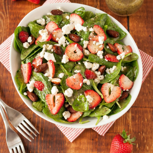 Image of Strawberry Goat Cheese Salad