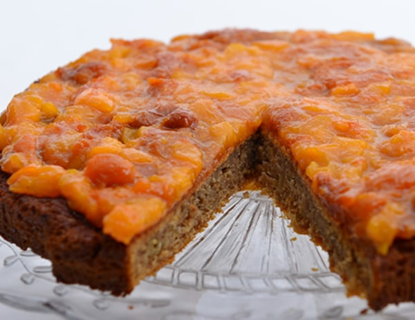 Image of Ginger Cake with Apricot Sticky Sauce