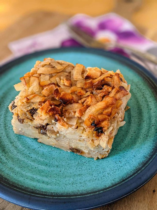 Image ofApple and Raisin Kugel