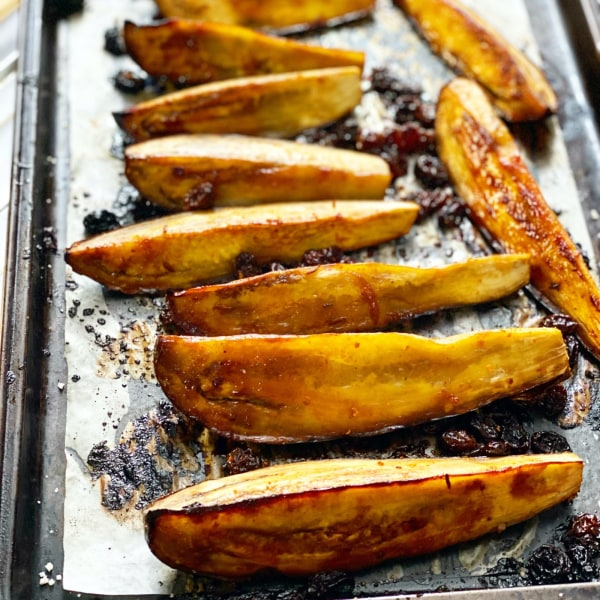 Image ofLemon Sultana Roasted Eggplant