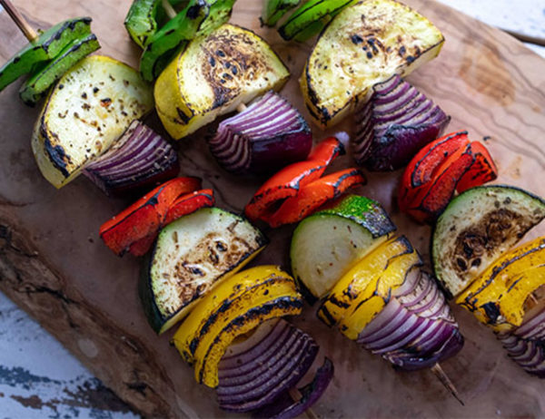 Image ofGrilled Veggie Kabobs