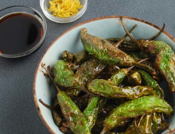 Image of Sizzling Shishito Peppers