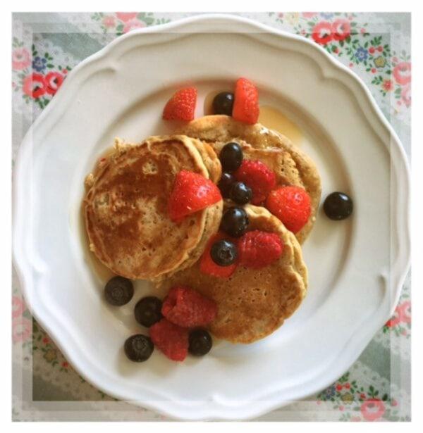 Image ofSwedish Overnight Oat Pancakes