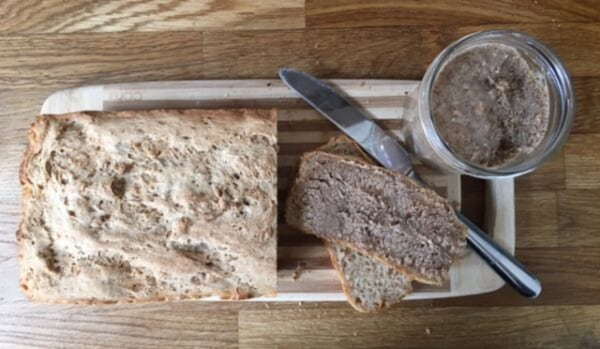 Image ofSemper Buckwheat & Teff Loaf with Homemade Almond Butter