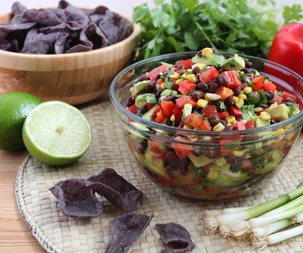 Image ofBlack Bean and Corn Salsa
