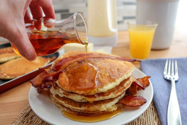 Image ofBacon Pancakes