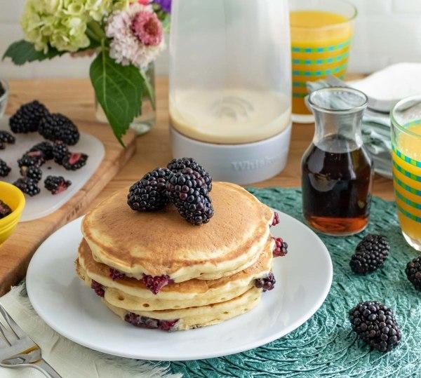 Image of Blackberry Buttermilk Pancakes