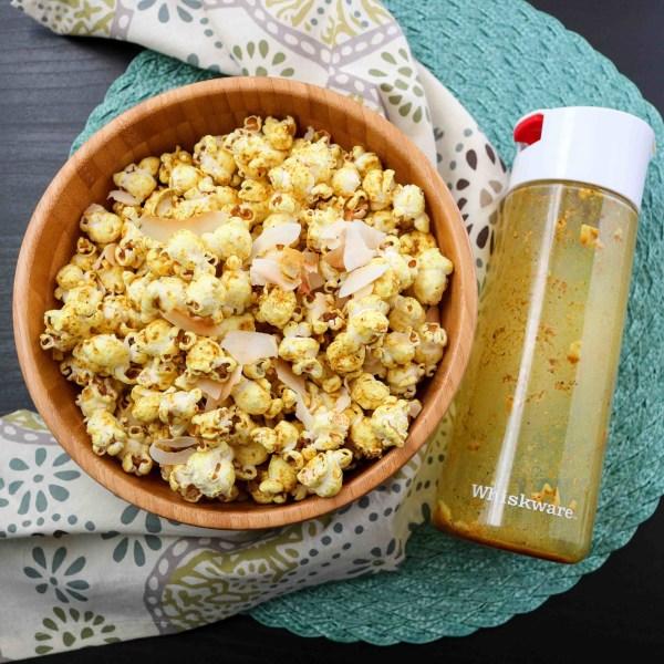 Image ofCoconut Curry Popcorn