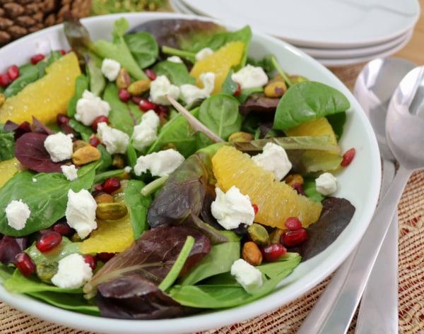 Image ofCitrus Pomegranate Christmas Salad
