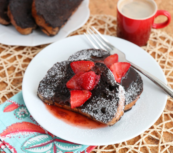 Image ofChocolate French Toast