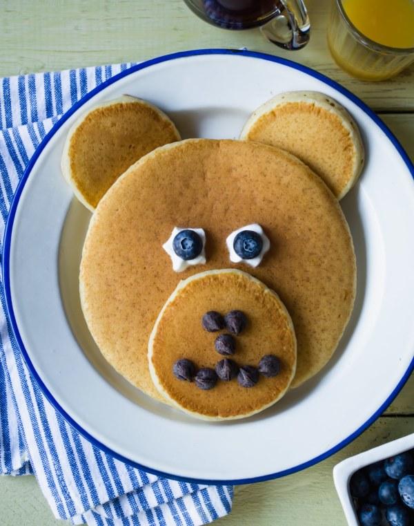 Image ofHow To Make Pancake Art: Bear