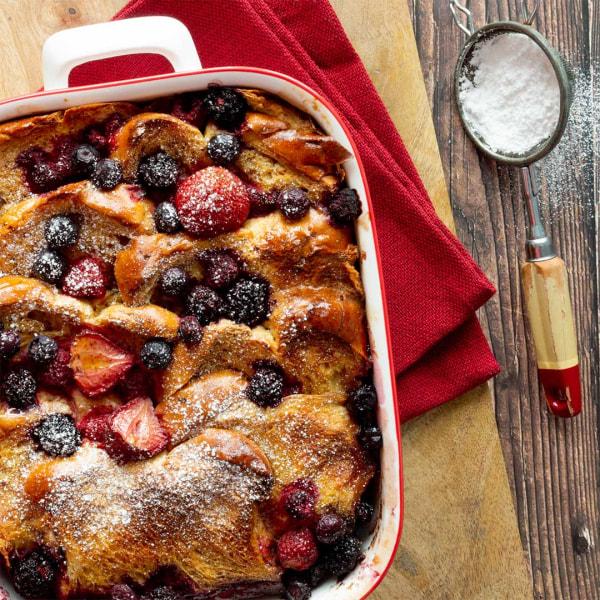 Image of Fruitcake French Toast Recipe
