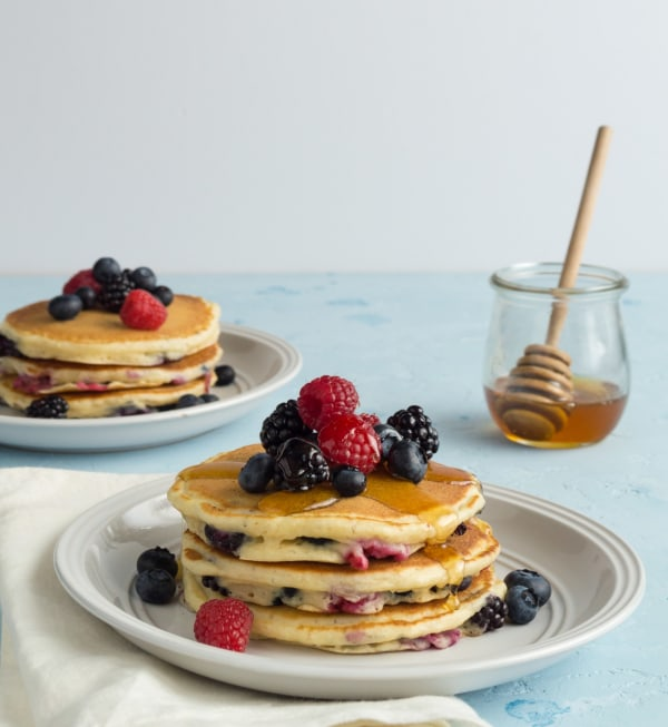 Image ofForest Fruits Pancakes