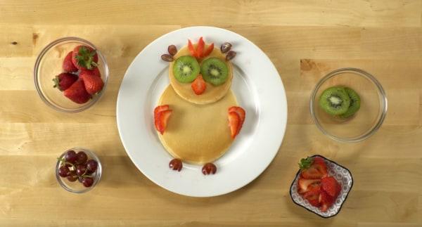 Image ofHow To Make Pancake Art: Owl