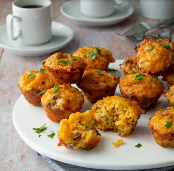 Image ofMini Cheddar-Bacon Muffins