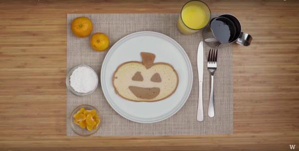 Image ofHow To Make Pancake Art: Pumpkin