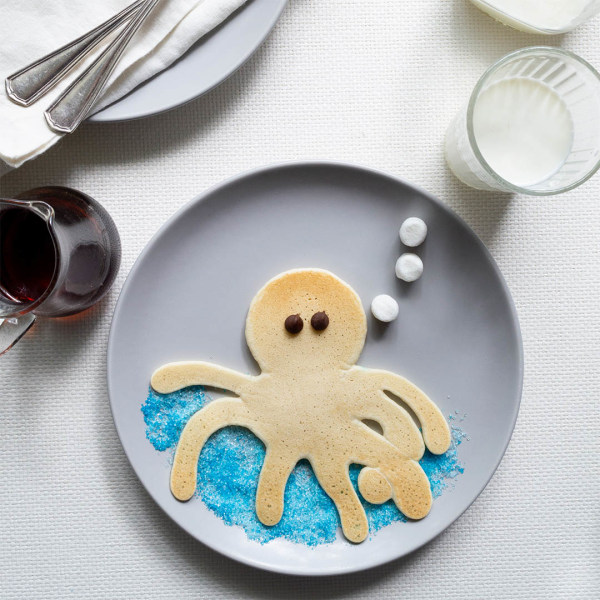 Image ofHow To Make Pancake Art: Octopus