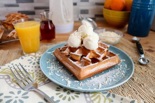 Image ofMini Snowball Waffles