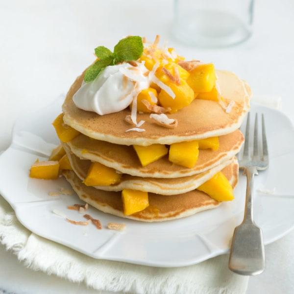 Image ofMango Coconut Pancakes