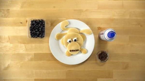 Image ofPancake Art: Monkey
