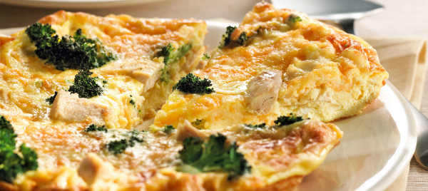 Image ofPotato, Ham and Spinach Frittata