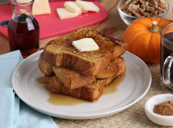 Image ofPumpkin Pie French Toast