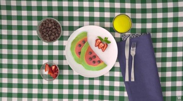 Image of Summer Pancake Art