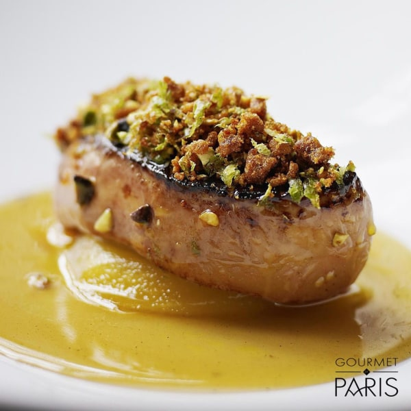 Image ofSeared Foie Gras With Mission Fig and Balsamic Reduction