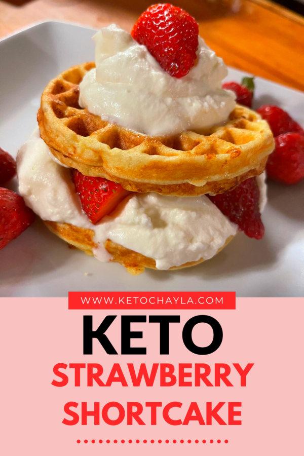 Image ofThe Best Keto Strawberry Shortcake