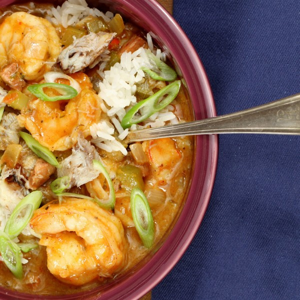 Image of Spicy Seafood Gumbo