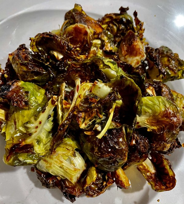 Image of Roasted Brussels Sprouts with Denissimo Balsamic