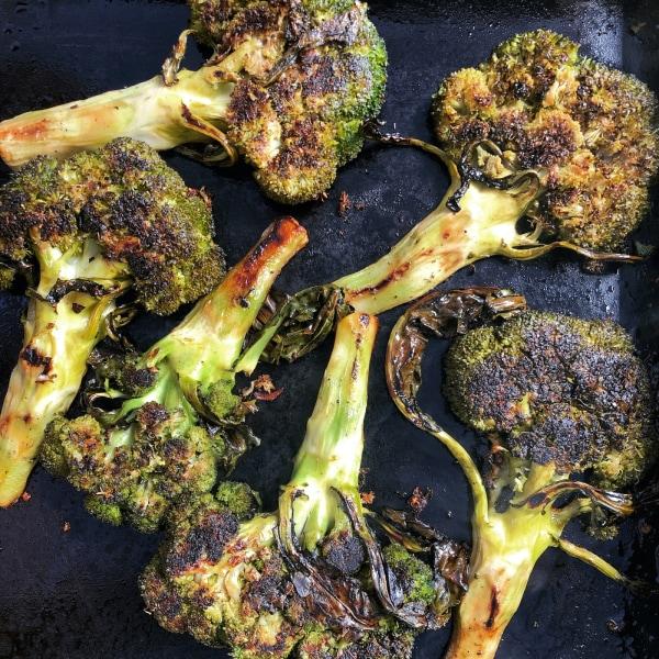 Image of Smashed Spring Broccoli