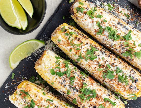 Image of Grilled Street Corn on the Cob (aka Mexican Street Corn)