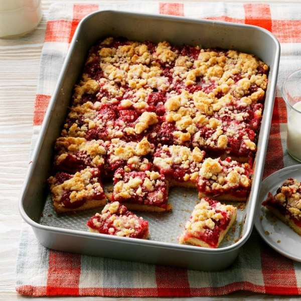Image ofRaspberry Patch Crumb Bars