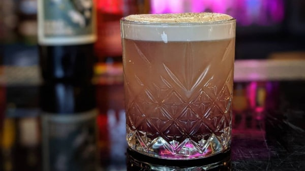 Image of Reverse New York Sour