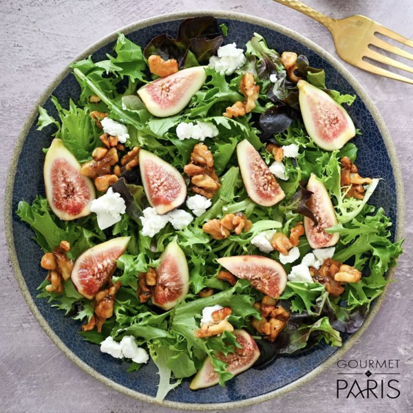 Image ofFig and Grand Coeur Goat Cheese Salad